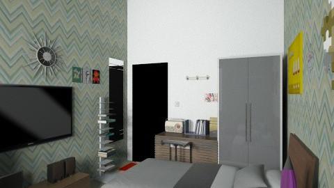 my room 8 - Retro - Bedroom  - by herjantofarhan