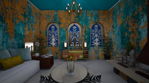 modern playful livin rm - Living room - by Kylie Awa