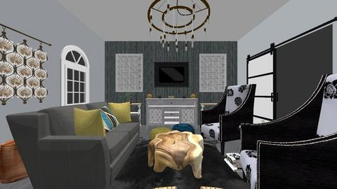 Design for Madison - Living room  - by JAReagan