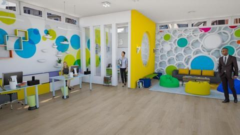 Playful Office - Modern - Office - by Nina Colin