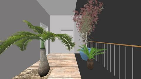 Open Plan Living New - Retro - Living room - by victoriakjones