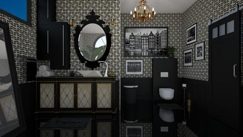 arty toilet room - Bathroom  - by Miss MH