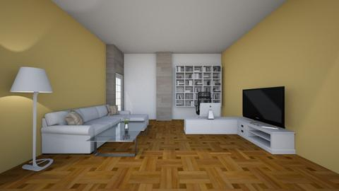 Salotto - Living room  - by lione_musiab