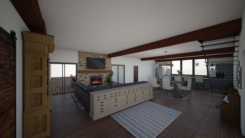 dream barndo - Living room - by mrsamandacagle