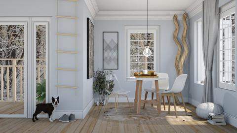 three seats - Dining room  - by Adelaide8