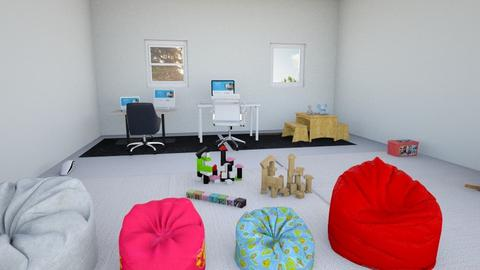 Family Room 1 - Kids room  - by RoseJoy