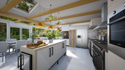 Kitchen - Modern - Kitchen  - by Bibiche