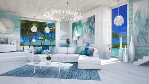 ITS BETTER IN THE BAHAMAS - Modern - Living room  - by RS Designs