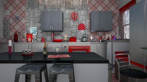 modern kitchen - by deemuri_co