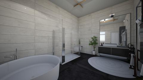 Bathroom 1 - Modern - Bathroom  - by rajust_fly