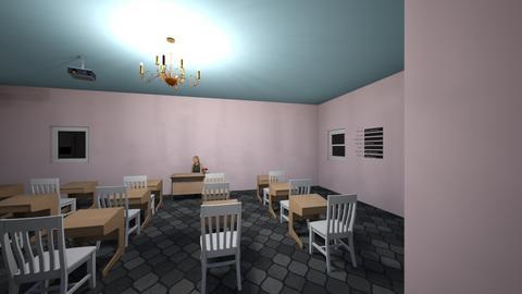 classroom - by AntoniaSmith100