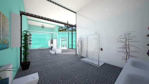 mint bathroom suite  - Modern - Bathroom  - by fashiondesigner7