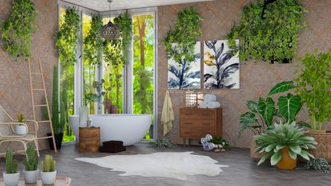 Plants - Bathroom - by Art_Decoration