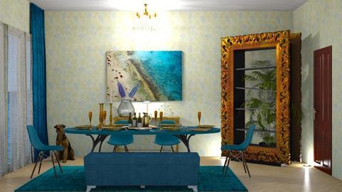 TM dining room - by nat mi