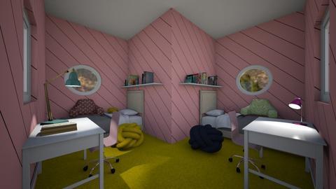 girly girl room - Bedroom  - by percy_jackson_geek
