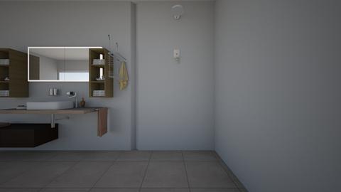 Badkamer - Bathroom - by HLinterieur
