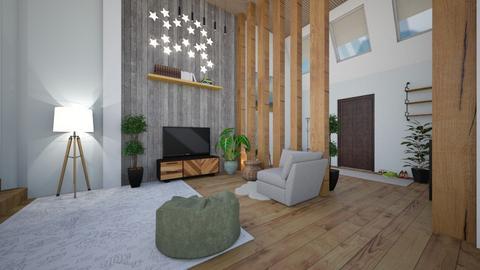 Modern Apartment pt 2 - Modern - Living room  - by Dragonets of Destiny