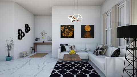 Natutal Elements - Minimal - Living room  - by elizabethwatt16
