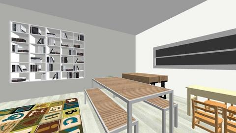 indoor classroom  - Kids room - by whelancarly