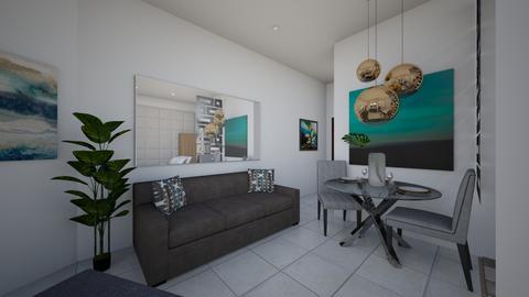Condo Interiors_Living  - Modern - Living room - by danes