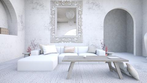 pure white - Living room - by Chiara Amadei