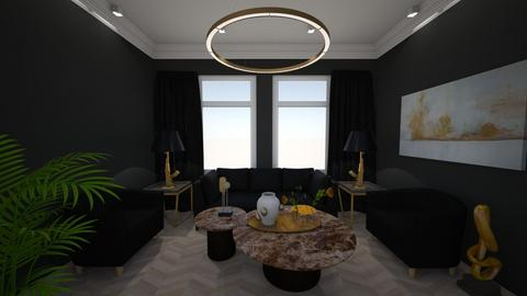 Lux apartment - Living room - by Robert_Roisgard