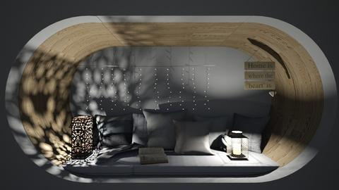 Bed Nook 2 - Minimal - Bedroom  - by its lia
