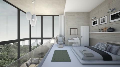 Simple Modern Clean Loft - by hannahsdesigns