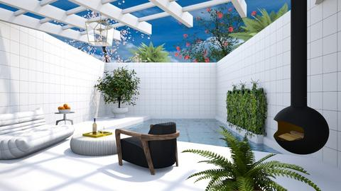 Miami Minimal Pool - Minimal - Garden  - by 3rdfloor