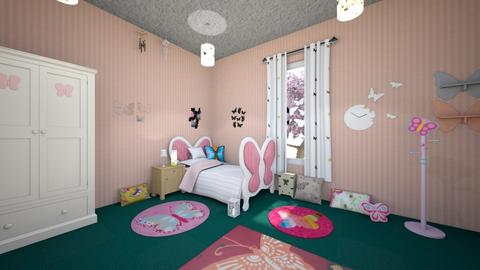 Butterflies for orionaute - Bedroom  - by sophie_sully