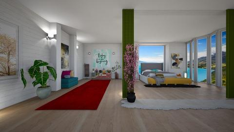 Modern Bedroom - Modern - Bedroom - by Art_Decoration