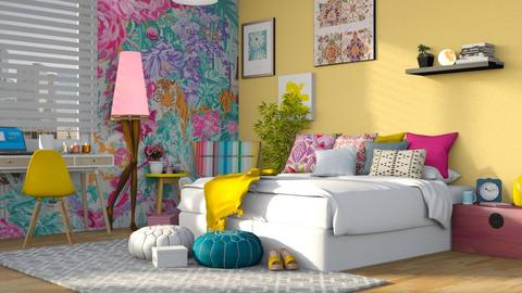 funny - Bedroom - by anjaam