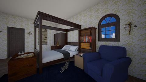 Ravenclaw Bedroom - Bedroom - by chocolatedonut71