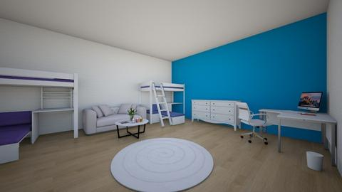 boy and girl room - Modern - Kids room  - by Ella_martarana