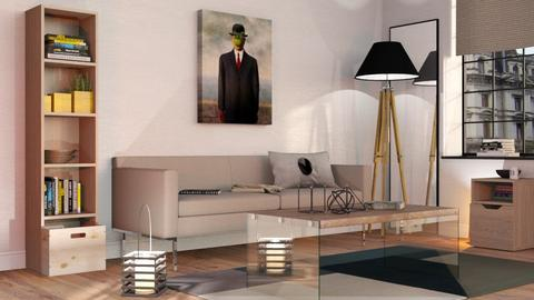 A Minimalist living room - Minimal - Living room  - by Sally Simpson