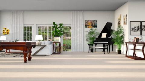 spring_contestSammyJPili - Living room  - by SammyJPili