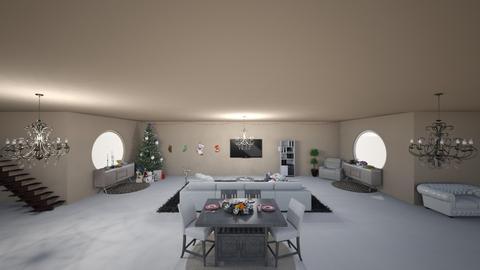 Christmas Modern  - Living room  - by teevonn