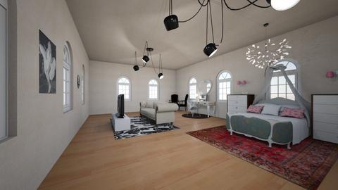dream bedroom - Vintage - Bedroom  - by Percilla Dyke