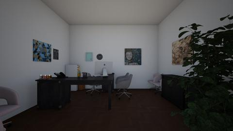 Mordern Office - Modern - Office - by Gabby_208