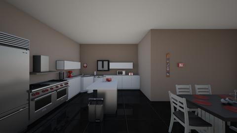 Kitchen left wall view - Kitchen  - by emilierankin