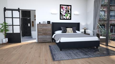 Hidden Desire Room - Minimal - Bedroom  - by lyrikkah