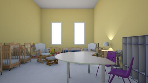 HH from changing table - Kids room  - by addiwood