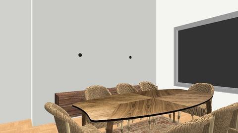 home living - Retro - Living room  - by Nada Salama