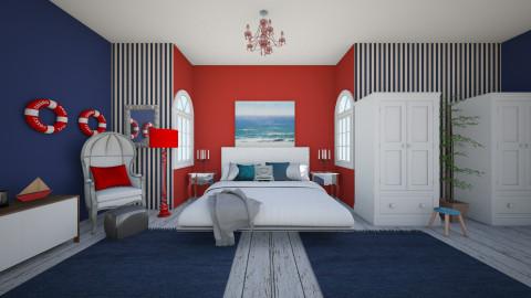 sea - Bedroom - by amberxx