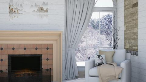 Snowy - Living room  - by Oyisha