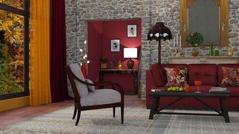 M_Autumn - Eclectic - Living room  - by milyca8