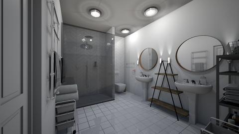 kupelna - Bathroom - by Kristina Bacinska