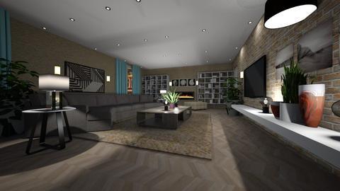 Haring Oak - Living room - by rosanebpf