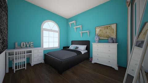 Paris is Life - Vintage - Bedroom  - by Brooklynne Manbeck_185