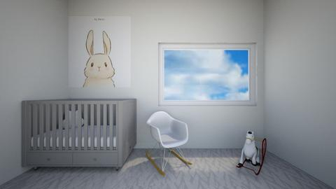 Bunny Nursery - Kids room  - by LilLil